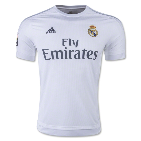 Real Madrid 15/16 Home Jersey