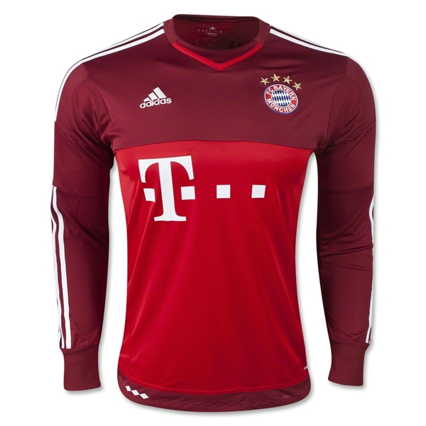 Bayern Munich 15/16 LS Away Goalkeeper Jersey