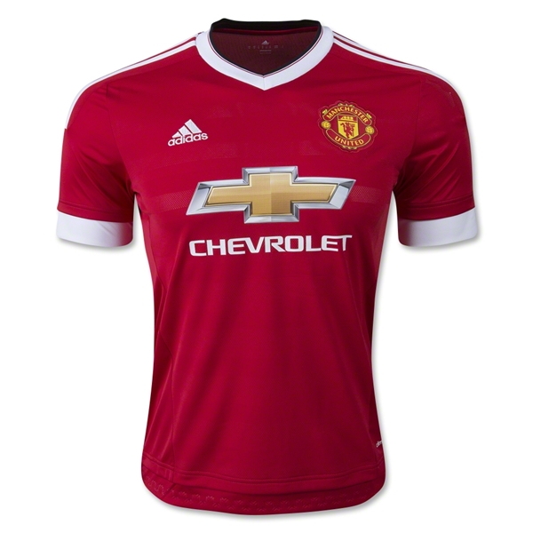 Manchester United 15/16 Authentic Home Jersey