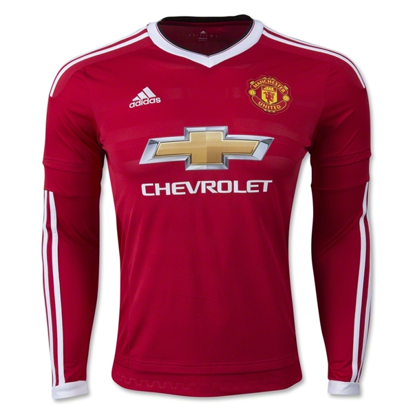 Manchester United 15/16 LS Home Jersey