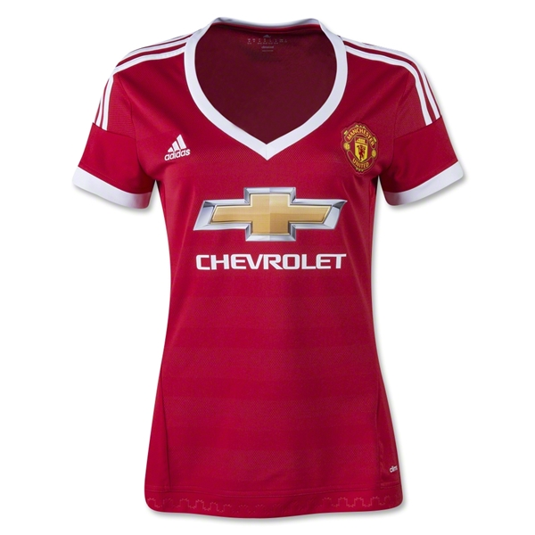 Manchester United 15/16 Women's Home Jersey
