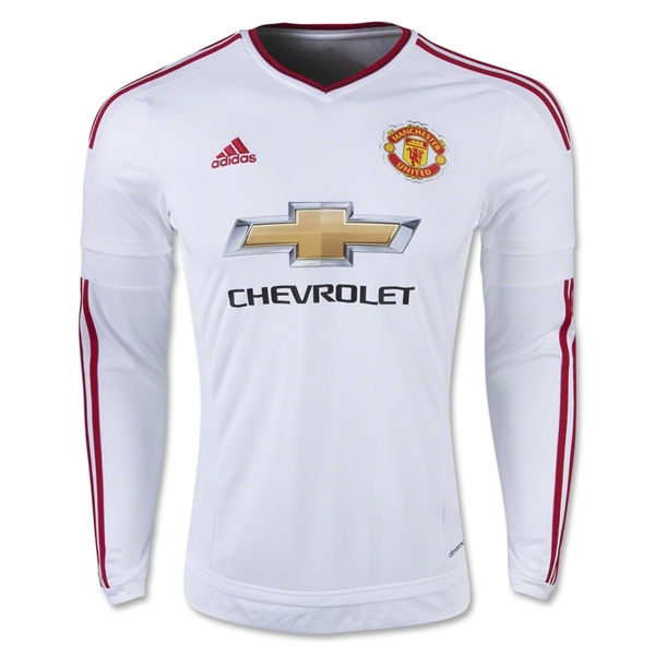 Manchester United 15/16 LS Away Jersey