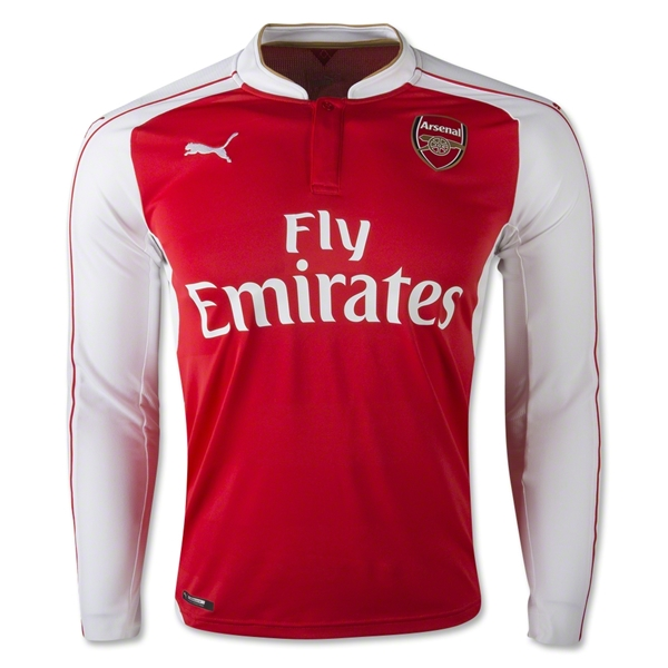 Arsenal 15/16 LS Home Jersey
