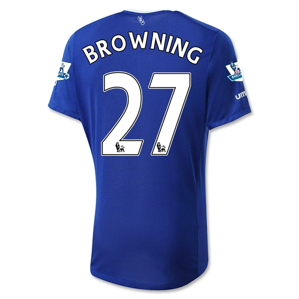 Everton 15/16 BROWNING Home Jersey