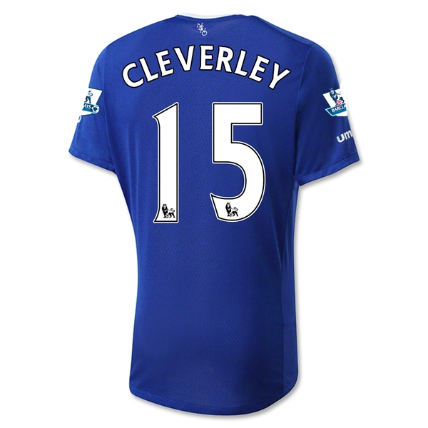 Everton 15/16 CLEVERLEY Home Jersey
