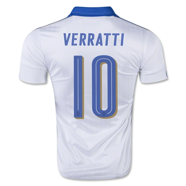 Italy 15/16 VERRATTI Away Jersey