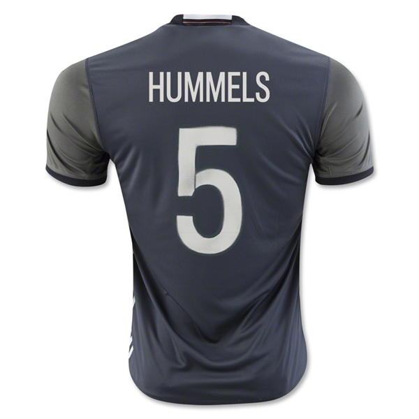 Germany 2016 HUMMELS Away Jersey