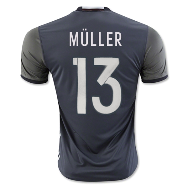 Germany 2016 MULLER Away Jersey