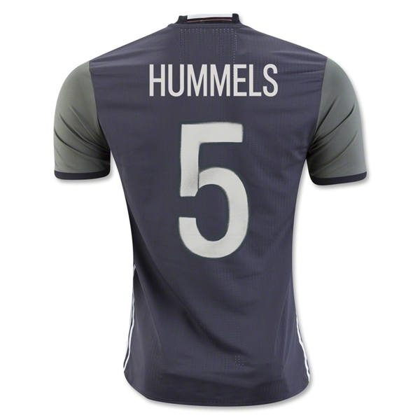 Germany 2016 HUMMELS Authentic Away Jersey