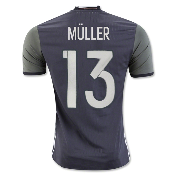 Germany 2016 MULLER Authentic Away Jersey