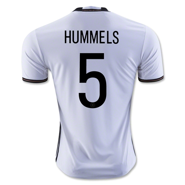 Germany 2016 HUMMELS Home Jersey