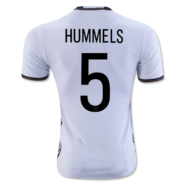 Germany 2016 HUMMELS Authentic Home Jersey