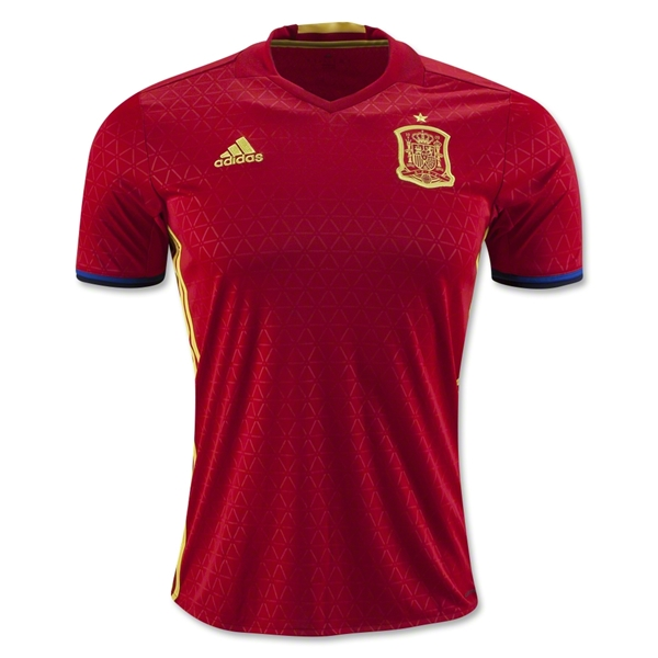 Spain 2016 Home Jersey