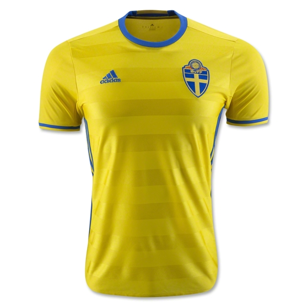 Sweden 2016 Home Jersey