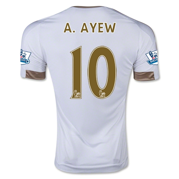 Swansea City 15/16 A. AYEW Home Jersey