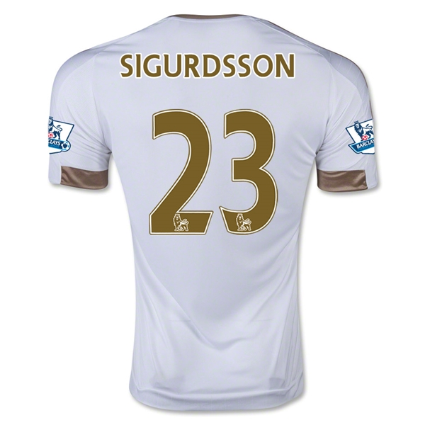 Swansea City 15/16 SIGURDSSON Home Jersey