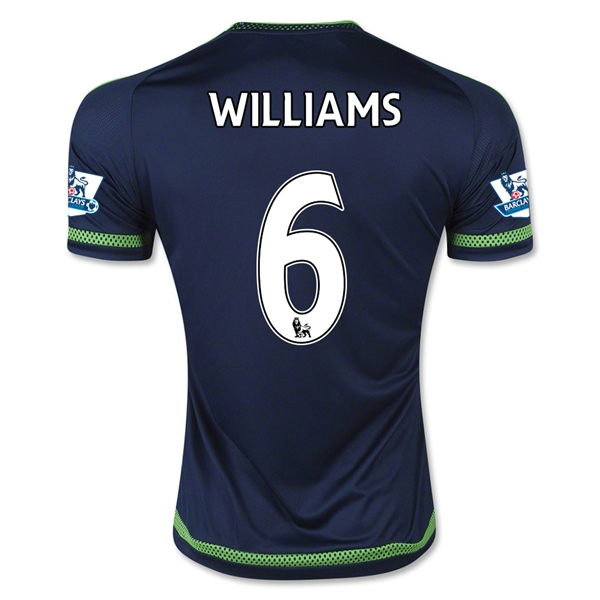 Swansea City 15/16 WILLIAMS Away Jersey