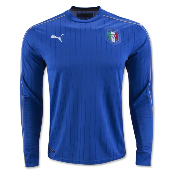 Italy 2016 LS Home Jersey
