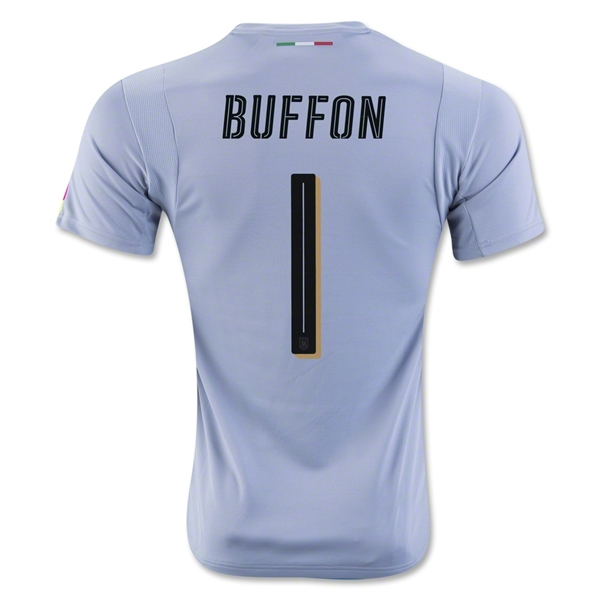 Italy 2016 BUFFON Goalkeeper Jersey (Blue)