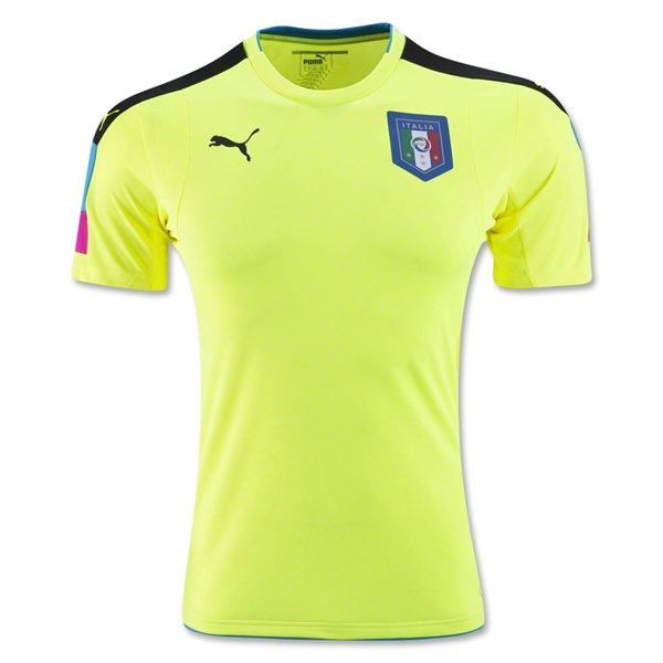 Italy 2016 Goalkeeper Jersey (Yellow)