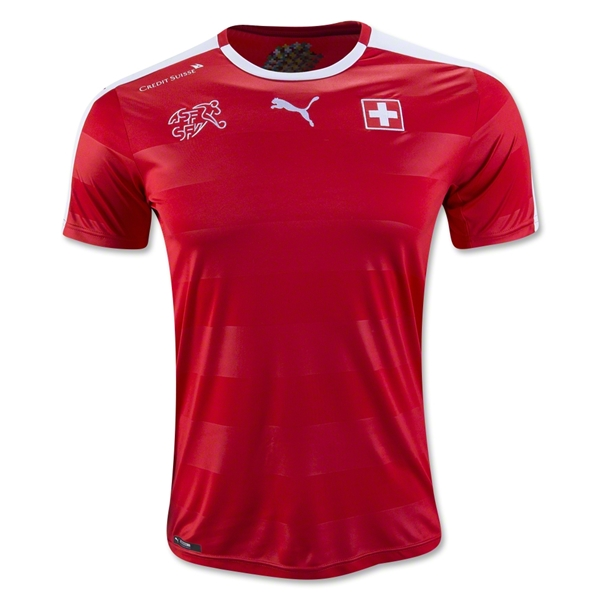 Switzerland 2016 Home Jersey