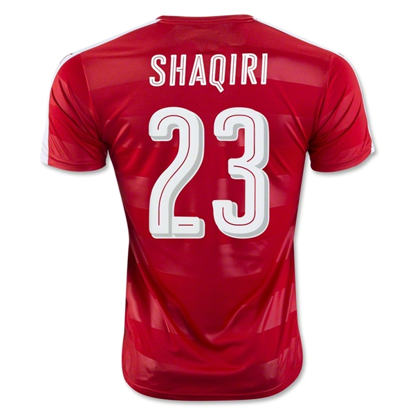 Switzerland 2016 SHAQIRI Home Jersey