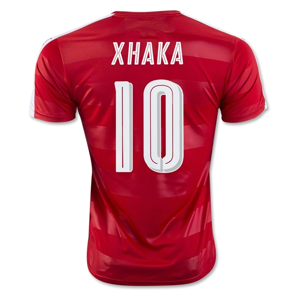 Switzerland 2016 XHAKA Home Jersey