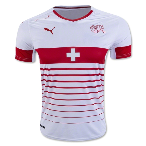 Switzerland 2016 Away Jersey