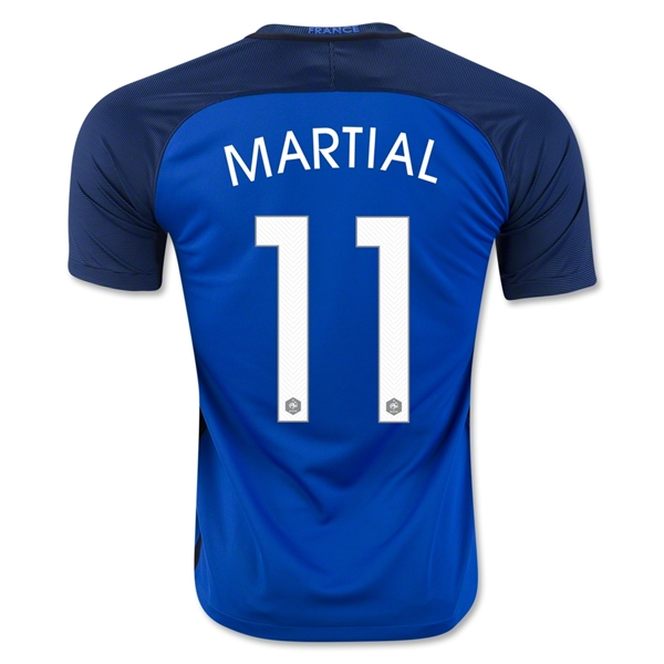 France 2016 MARTIAL Home Jersey