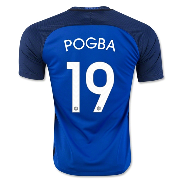 France 2016 POGBA Home Jersey