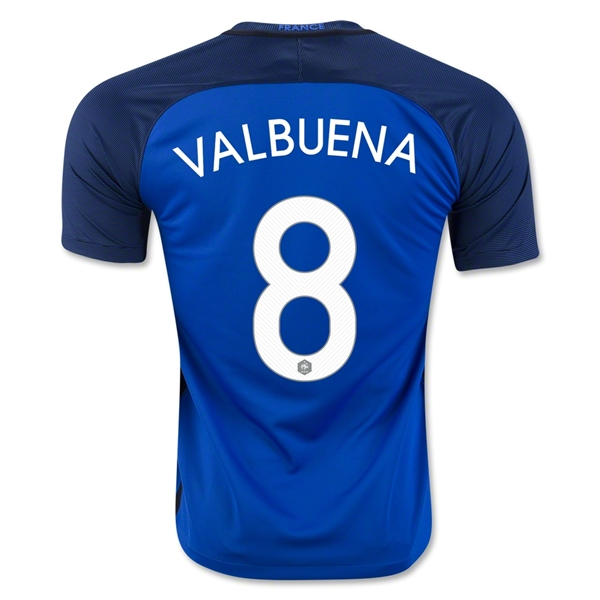 France 2016 VALBUENA Home Jersey