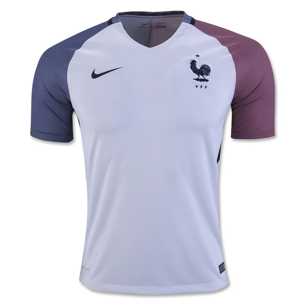 France 2016 Away Jersey
