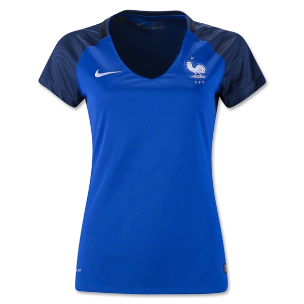 France 2016 Women's Home Jersey