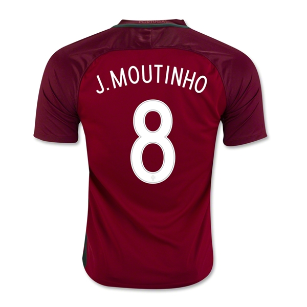 Portugal 2016 J. MOUTINHO Home Jersey
