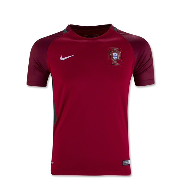 Portugal 2016 Youth Home Jersey