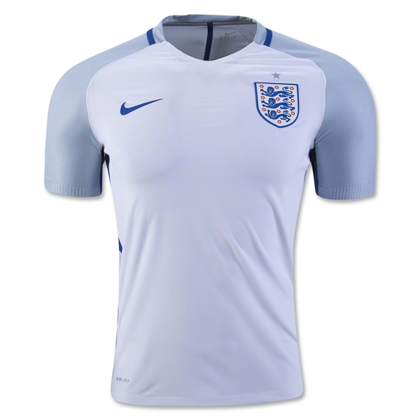 England 2016 Authentic Home Jersey