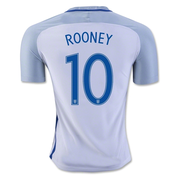 England 2016 ROONEY Authentic Home Jersey