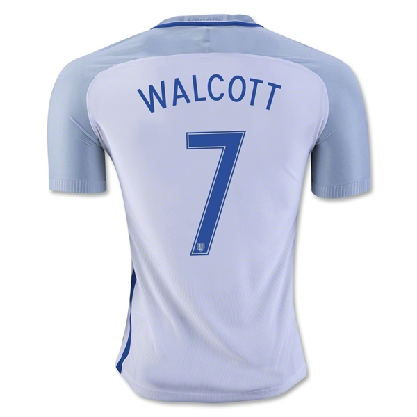 England 2016 WALCOTT Authentic Home Jersey