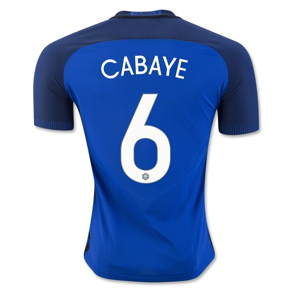 France 2016 CABAYE Authentic Home Jersey
