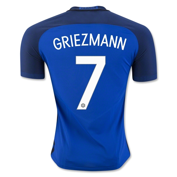 France 2016 GRIEZMANN Authentic Home Jersey
