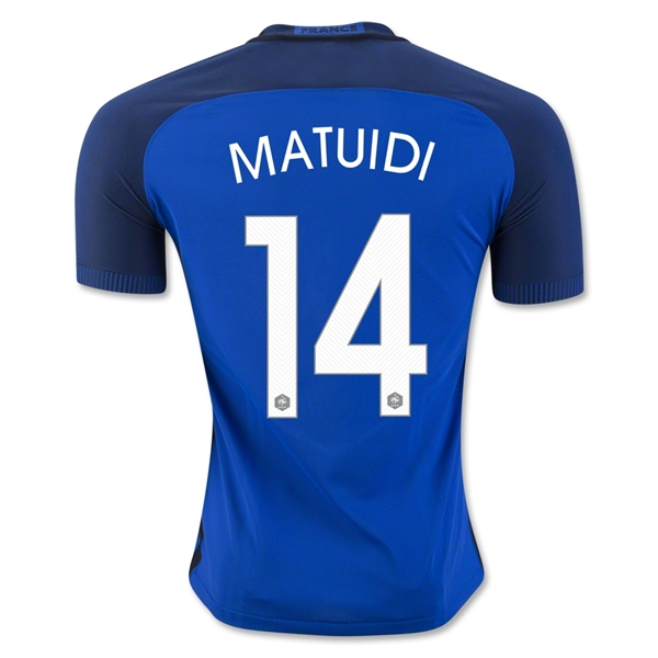 France 2016 MATUIDI Authentic Home Jersey