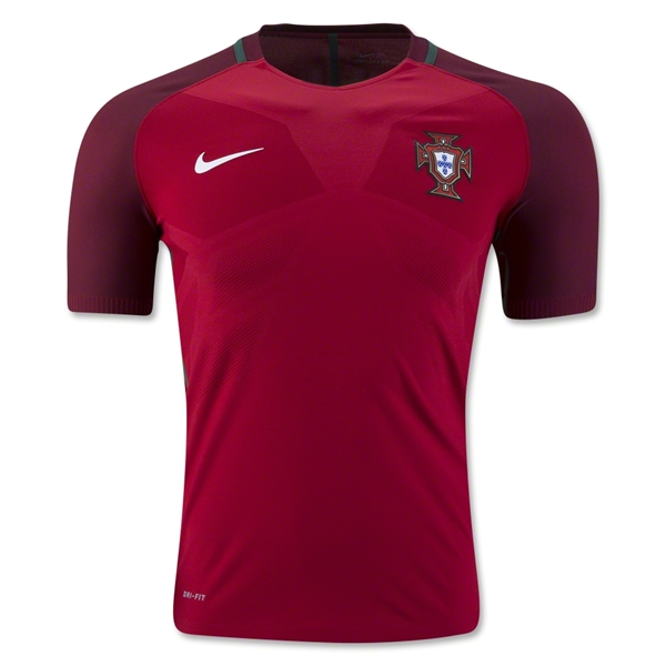 Portugal 2016 Authentic Home Jersey