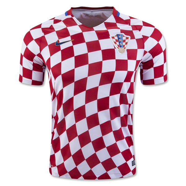 Croatia 2016 Home Jersey