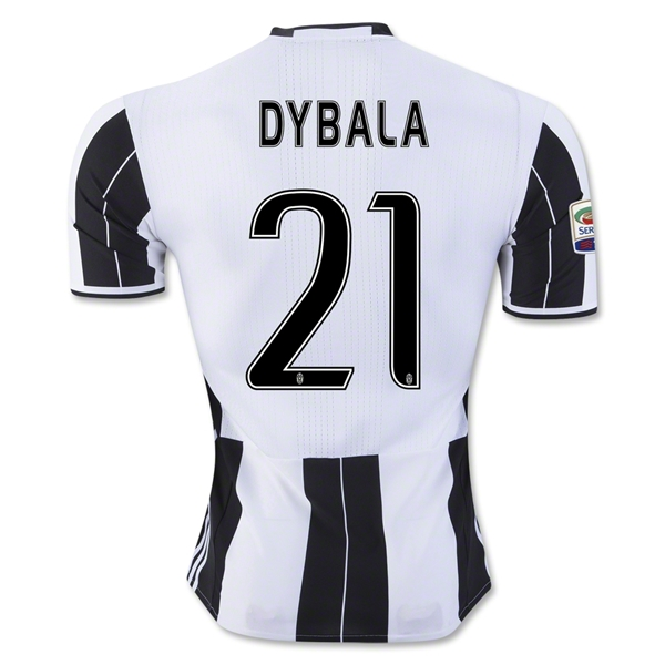 Juventus 16/17 DYBALA Authentic Home Jersey