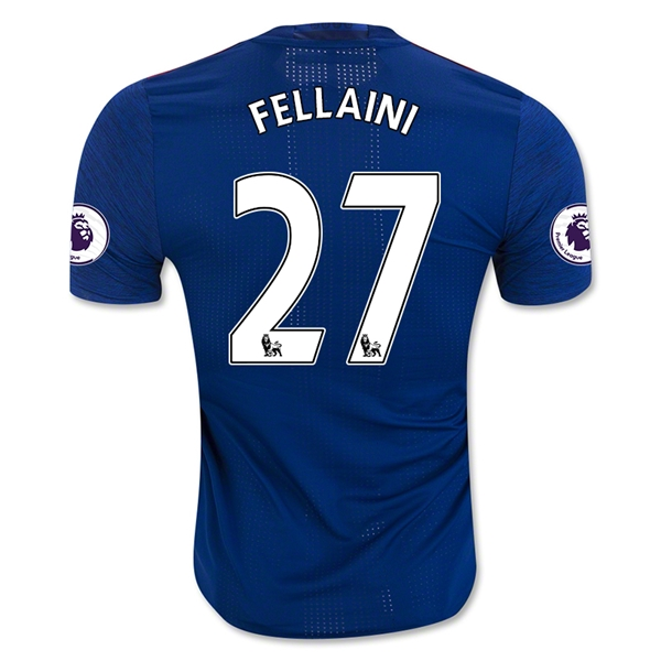 Manchester United 16/17 FELLAINI Authentic Camiseta de la 2ª equipación