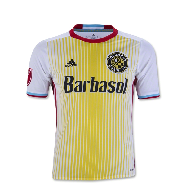 Columbus Crew 2016 Youth Away Soccer Jersey