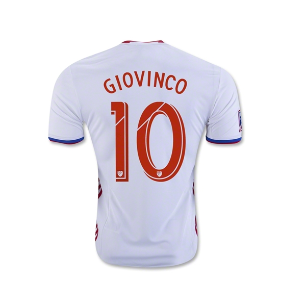Toronto FC 2016 GIOVINCO Away Soccer Jersey