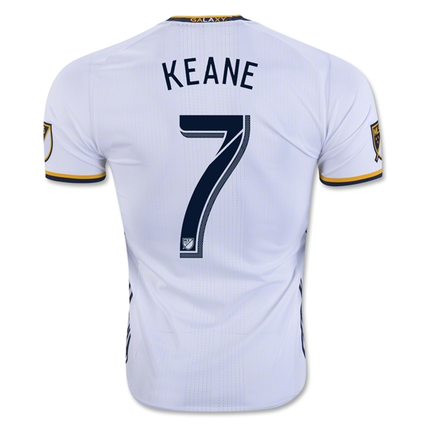 LA Galaxy 2016 KEANE Authentic Home Soccer Jersey