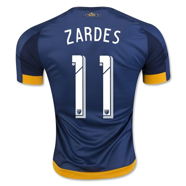 LA Galaxy 2016 ZARDES Authentic Away CAMISETAS DE FÚTBOL