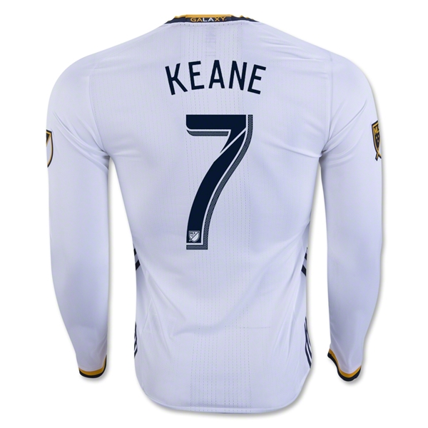 LA Galaxy 2016 KEANE LS Authentic Home Soccer Jersey